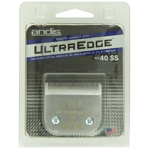ANDIS Ultraedge #40 Blade A5 .25mm