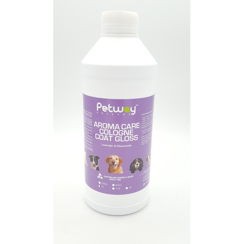 PETWAY PETCARE AROMA CARE COLOGNE COAT GLOSS - 1 LITRE