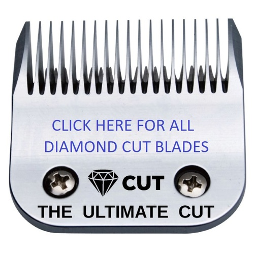 Diamond Cut Clipper Blades