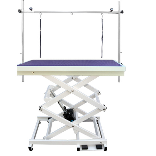 Electric Grooming Table - Extra Low - Scissor Style